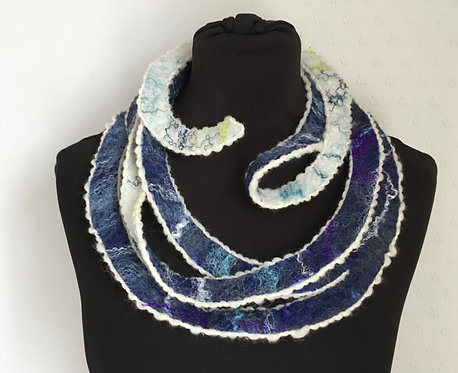 Reversible Spiral Collar - Catherine Slater