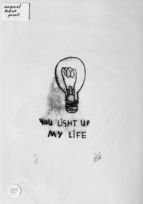 You light up my life  - Gillian Gilroy