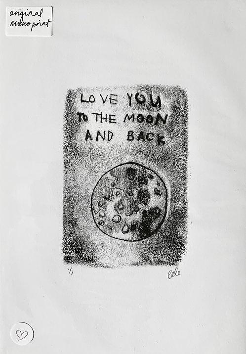 Love you to the moon and back - Gillian Gilroy