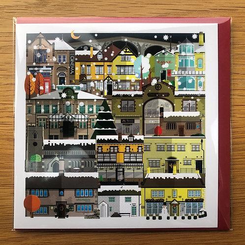 Ilkley Christmas Card - 10 card pack - Richard Locket