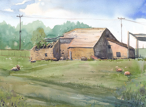 Middleton Barn - Laura Dawes