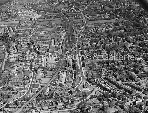 Aerial Photo of Ilkley - A1