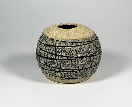 Veined Limestone Orb (medium) - Emmeline Butler