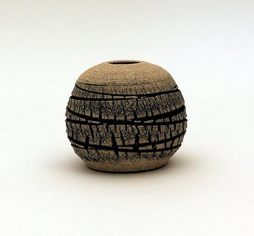 Veined Limestone Orb (small) - Emmeline Butler