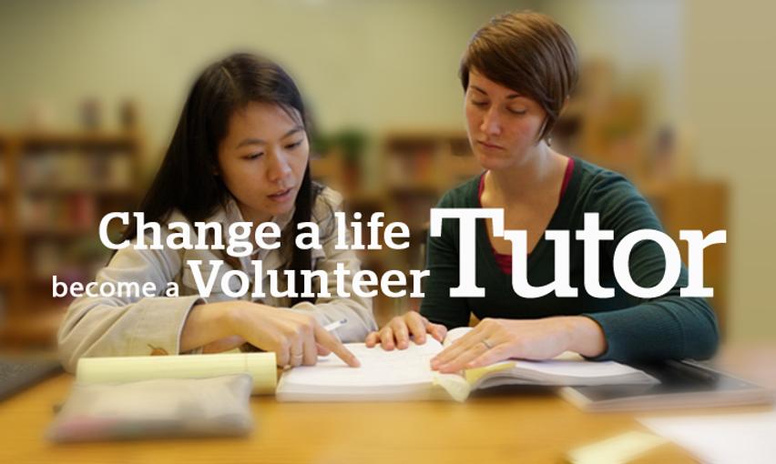 Literacy Council become a Volunteer Tuto
