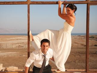 Dead Sea Wedding I חתונה בים המלח