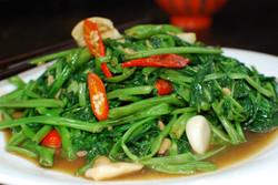 Kangkong Stir Fry