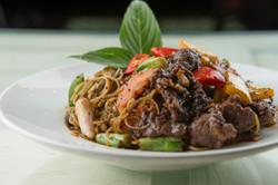 Siam Spaghetti Black Pepper Beef