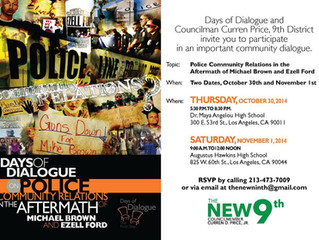 Days of Dialogue, Los Angeles: Police Community Relations in the Aftermath of Micheal Brown and Ezel