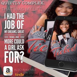 Ticked by Karen Raines (ad teaser)