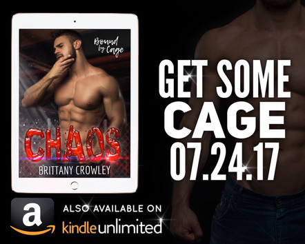 CHAOS by Brittany Crowley ad teaser
