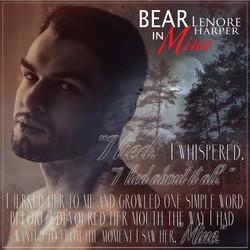 Bear In Mine (teaser #3)