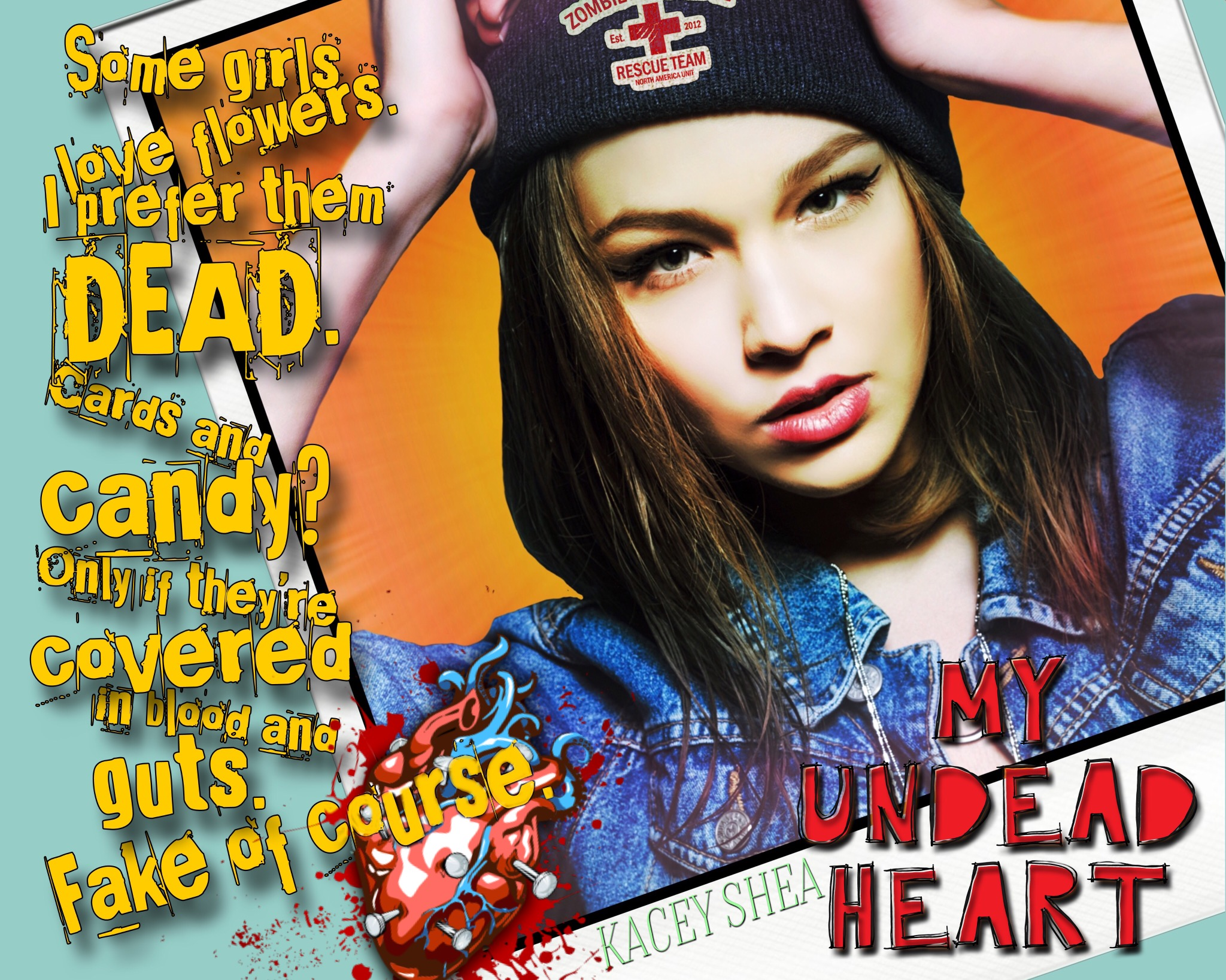 My Undead Heart by Kacey Shea