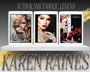 Karen Raines books ad teaser