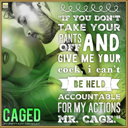 Caged by Brittiany Crowley teaser#5