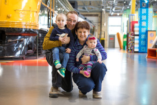 Trip to the Children's Museum Lifestyle [Family] Session