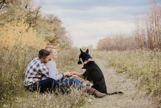 Trista & Andrew - Puppy Love Engagement