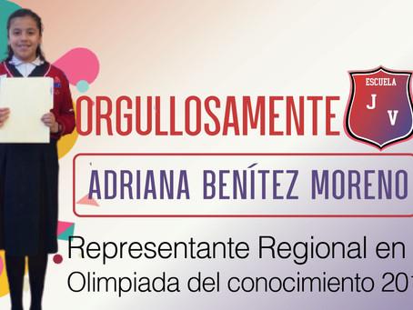 Orgullosamente JV - Adriana Benítez Moreno