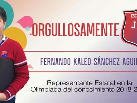 Orgullosamente JV - Fernando Kaled Sánchez Aguilar