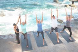 Le Palais Rhoul Dakhla | hotel spa | Yoga sur la plage