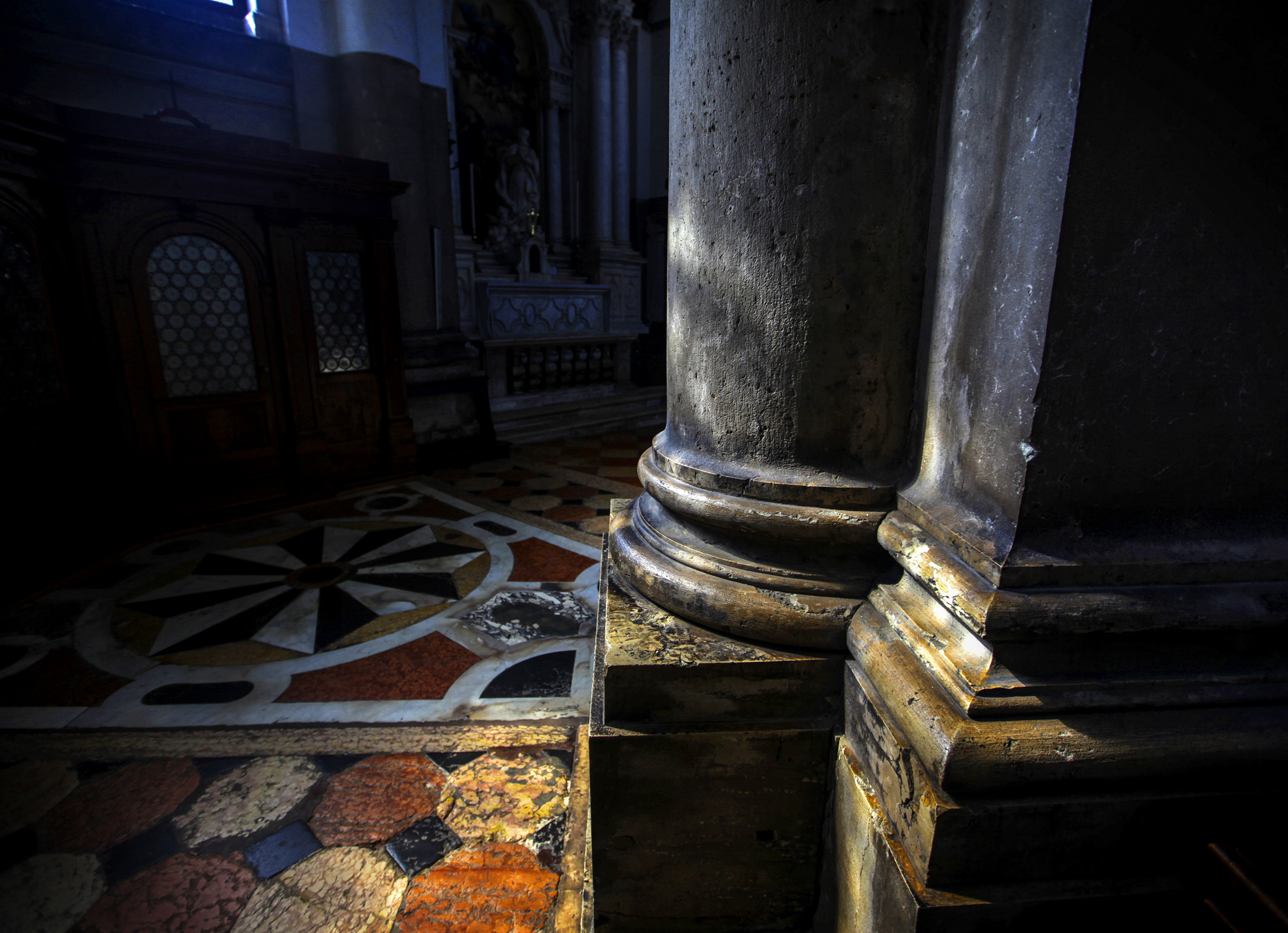 Church Pillars