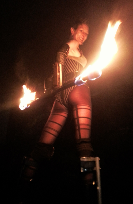 Candy_Fire_Stilts_circus_scotland