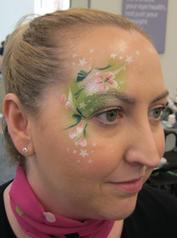 Specsavers_opening_facepainted_staff_Bellshill_March_2018