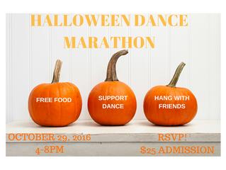 Halloween Dance Marathon Fundraiser!