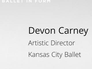 'A Dynamic Soutenu' with Devon Carney Artistic Director, Kansas City Ballet