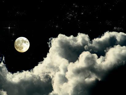 Durante a noite! Durma bem!