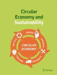 Editorial Board appointment for Circular Economy and Sustainability
