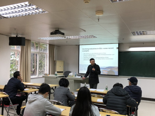 Seminar at Jinan University, Guangzhou China