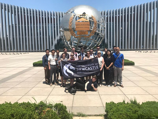 China Study Tour with UoN students