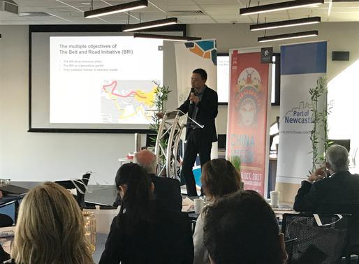 2017 Newcastle China Week Keynote Speech