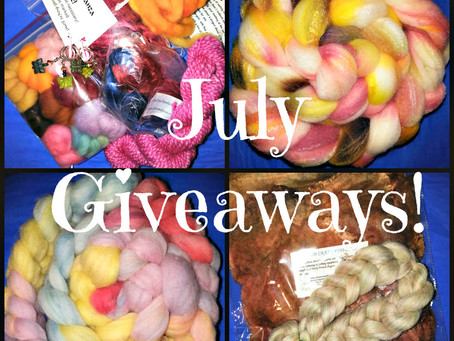 4 New Giveaways, 5 days only!  Are you Ready to win?