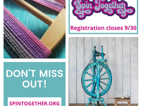 Only two days left to sign up for spin together!