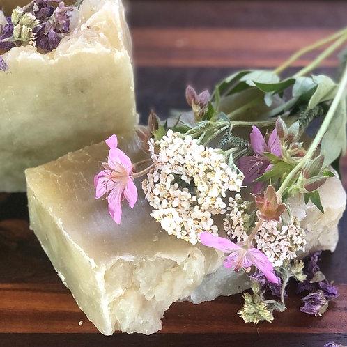 Yarrow Geranium Natural Soap
