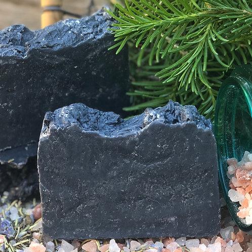 Charcoal & Sea Salt Natural Soap
