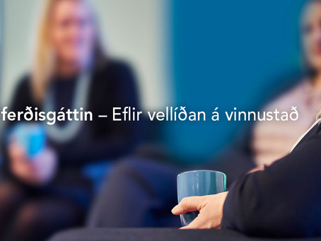 Spjall um Siðferðisgáttina í morgunútvarpi Rásar 2