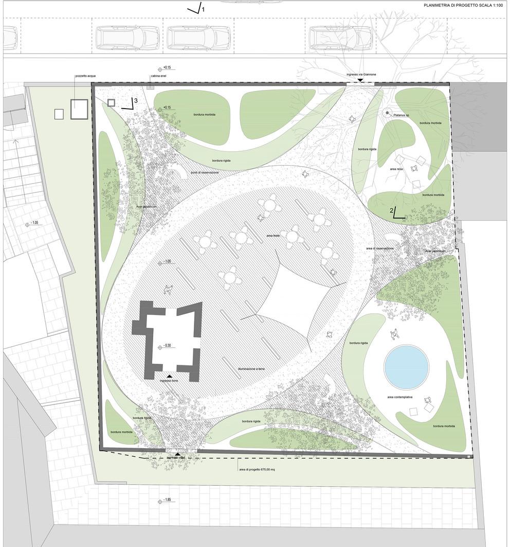 why associati architettura design landscape, Bordiga spazi esterni
