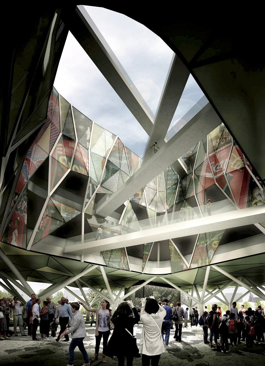 why associati architettura design landscape, progetto padiglione italia