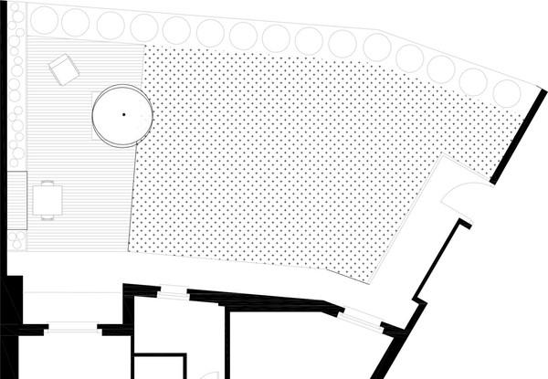 planimetria giardino privato