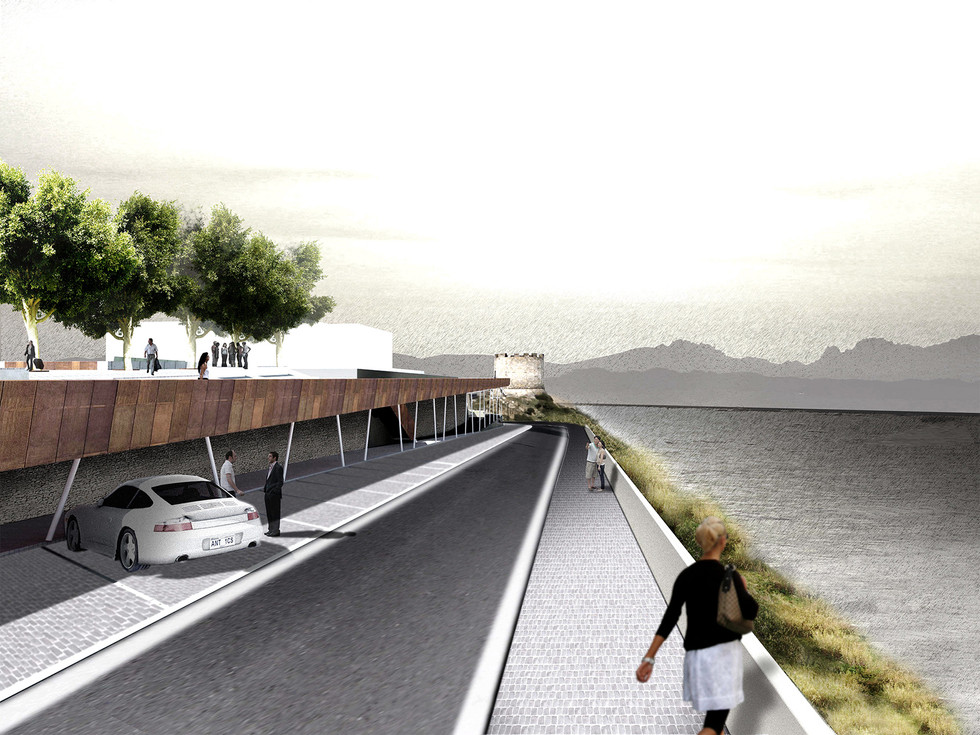 why associati architettura design landscape, competition Santa Teresa di Gallura