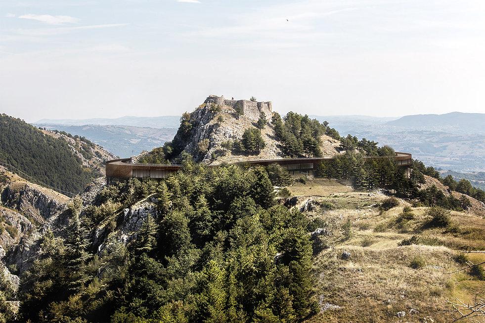 why associati architettura design landscape, Castle Resort architecture in landscape