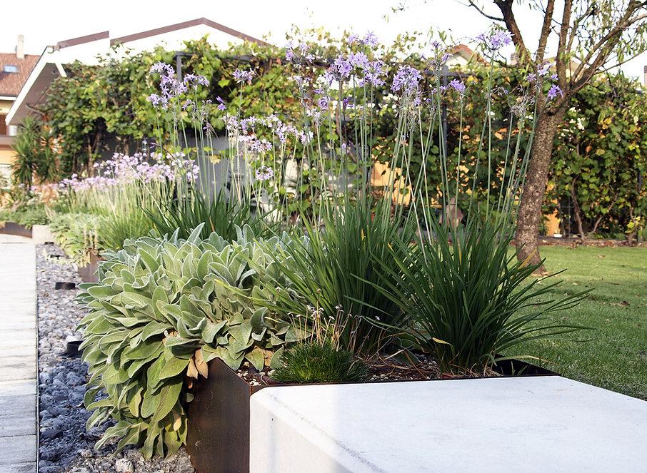why associati architettura design landscape, realizzazione giardino sedute