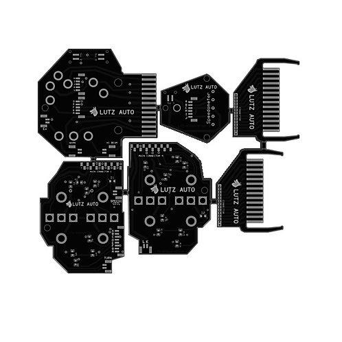 82-84 Porsche 928 Gauge Cluster Printed Circuit Replacement