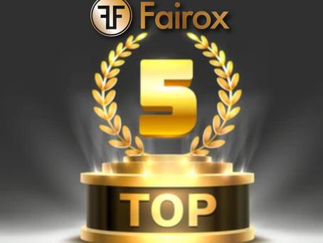 최종 한국 TOP 5 프로모션 달성자 명단 발표