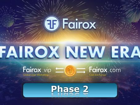 Fairox New Era 1의 2단계 정식 런칭 공지