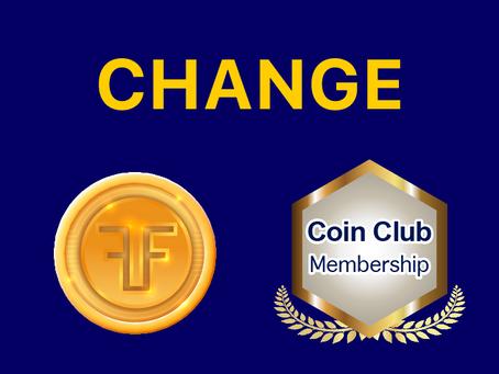 2021年5月币发行和Coin Club会员资格更改公告