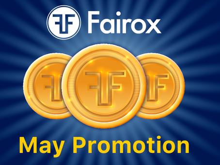 FAIROX 5月2021 促销公告
